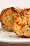muffinen skivar två Royaltyfri Fotografi