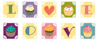 muffiner stock illustrationer