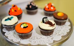 muffiner halloween Arkivfoto