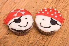 muffiner piratkopierar två Royaltyfri Fotografi