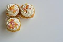 muffiner tre Royaltyfria Bilder