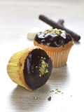 muffiner två arkivbilder