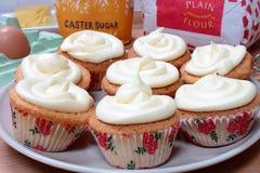 Muffiningredienser Royaltyfri Bild