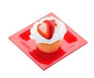 muffinjordgubbe Royaltyfri Foto