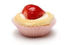 muffinjordgubbe Fotografering för Bildbyråer