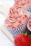muffinjordgubbe arkivbild