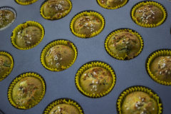 Muffinkleiner kuchen Lizenzfreie Stockfotos