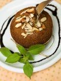 Muffinmandelar Arkivfoto