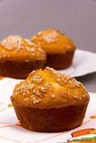 Muffinnahaufnahme Lizenzfreies Stockbild
