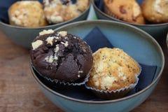 Muffinnahaufnahme Lizenzfreie Stockfotografie