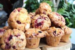 Muffinnahaufnahme Stockfotos