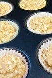 muffinoatmeal Royaltyfri Fotografi