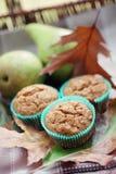 muffins αχλάδι στοκ φωτογραφία με δικαίωμα ελεύθερης χρήσης