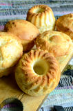 Muffins βανίλιας Στοκ εικόνα με δικαίωμα ελεύθερης χρήσης