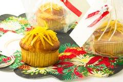 Σπιτικά muffins λεμονιών στοκ φωτογραφία