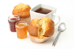 muffins επιδορπίων στοκ εικόνες