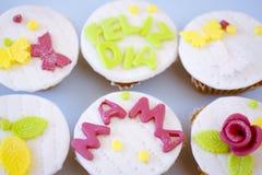 Muffins ημέρας μητέρων ` s Στοκ φωτογραφία με δικαίωμα ελεύθερης χρήσης
