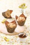 Muffins καραμέλας της Apple Στοκ εικόνα με δικαίωμα ελεύθερης χρήσης