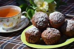 Muffins καρότων Στοκ εικόνα με δικαίωμα ελεύθερης χρήσης