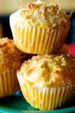 Muffins καλαμποκιού στοκ εικόνα