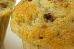 muffins μπανανών καρύδι Στοκ εικόνα με δικαίωμα ελεύθερης χρήσης