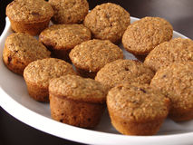 Muffins πίτουρου των βακκίνιων Στοκ Φωτογραφία