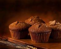 Muffins πίτουρου Στοκ Φωτογραφία
