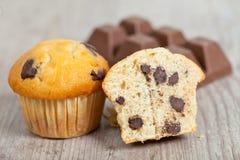 muffins σοκολάτας στοκ εικόνες