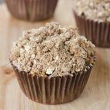 Muffins της Apple με το shtreyzel Στοκ εικόνες με δικαίωμα ελεύθερης χρήσης