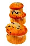 muffins τρία Στοκ φωτογραφία με δικαίωμα ελεύθερης χρήσης