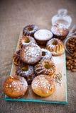 Muffins τυριών Στοκ φωτογραφίες με δικαίωμα ελεύθερης χρήσης