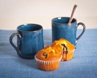 muffins φλυτζανιών βακκινίων Στοκ εικόνες με δικαίωμα ελεύθερης χρήσης