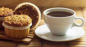 Muffins φουντουκιών Στοκ εικόνες με δικαίωμα ελεύθερης χρήσης