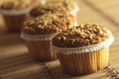 Muffins φουντουκιών Στοκ φωτογραφία με δικαίωμα ελεύθερης χρήσης