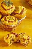 Muffins Stockbild