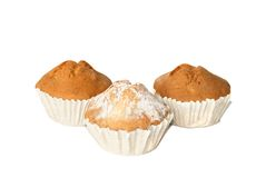 Muffins. Warm, fresh and tasty Royalty Free Stock Images