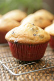 Muffins stock image