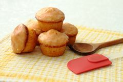 Muffins Stock Foto's
