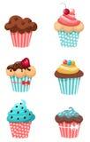 Muffins royalty ilustracja