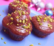 Muffins Stockfoto