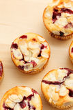 Muffins with almond Stock Images