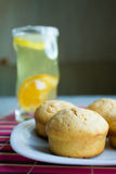 Muffins&Lemonade Foto de Stock