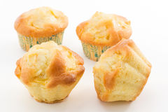 Muffins with apples Royalty Free Stock Photography