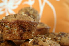 Muffins (banana&nuts) Royalty-vrije Stock Afbeelding