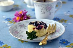 Muffins with black-currant Royalty Free Stock Image