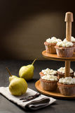 Muffins on a cake stand Royalty Free Stock Photography