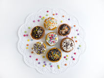 Muffins on cake top Royalty Free Stock Photography