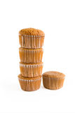 Muffins with clipping path Stock Images