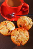 Muffins with coconuts Royalty Free Stock Photography