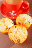 Muffins with coconuts Royalty Free Stock Image